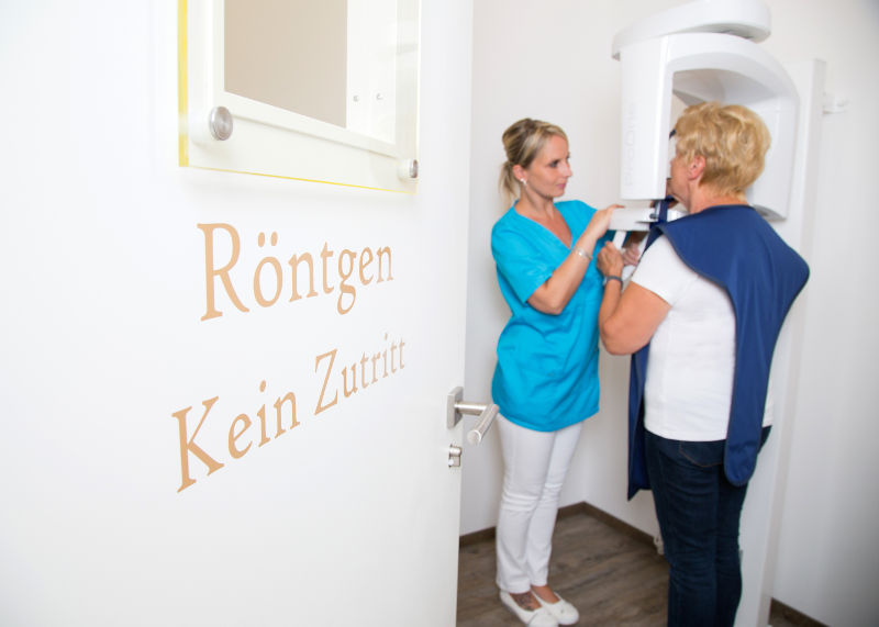 Röntgenraum - digitales Röntgen - Zahnarzt Werder (Havel)